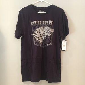 Other - Official Game of Thrones House Stark tee shirt